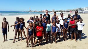 SPUR IRONKIDS on the beach