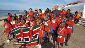 SPUR IRONKIDS ready to show their support